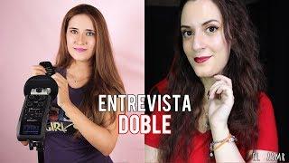 ♡ASMR español♡ ENTREVISTA DOBLE con ASMR with SASHA! ♥ EL y SASHA!♥