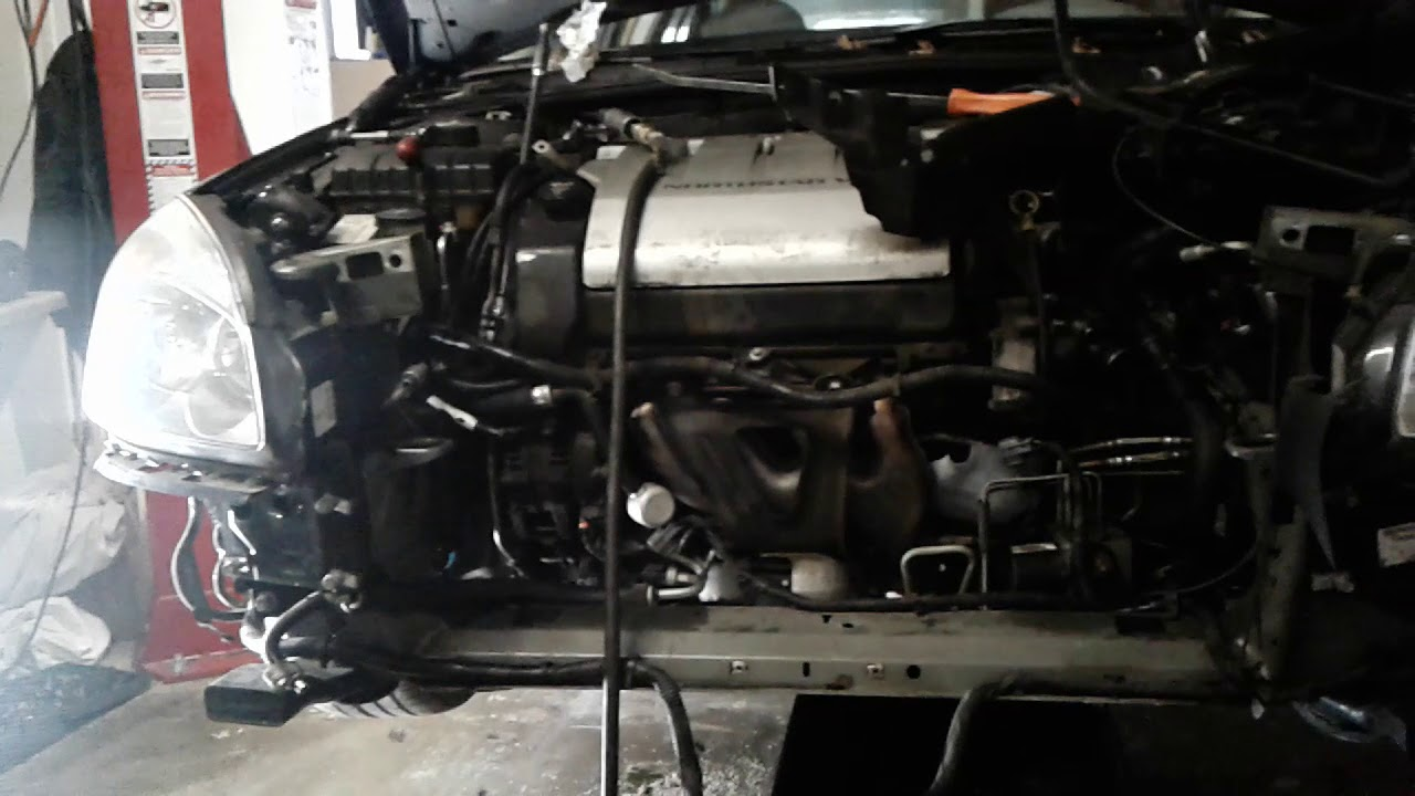 06 Buick Lucerne 4 6 Northstar Alternator Replacement