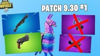 GRANDFATHER'S PUMP RETURNS! PATCH CONTENT UPDATE 9.30 #1 ! - Fortnite news