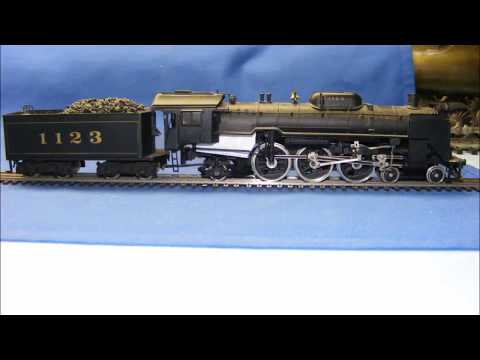 Rare Tenshodo ? HO Brass 4-6-2 Japanese National Railways JNR