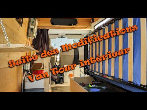 Suite Des Modifications - Van Tour Intérieur 😎