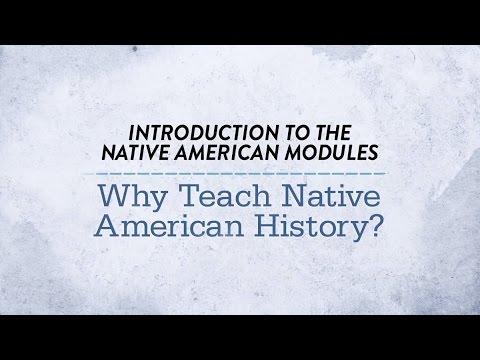 Why Teach Native American History?