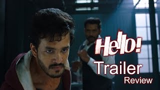 hello movie theatrical trailer review akhil akkineni kalyani ramya krishna yoyo cine talkies