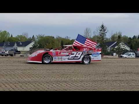 Jeff Crouse Racing.  Viking Speedway.  Super Stock.  5/12/18.  Gopro Video