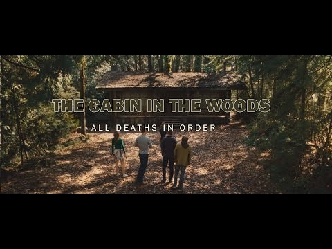 The Cabin in the Woods - All deaths in order 1080p HD