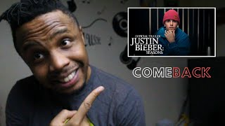 Justin Bieber: Seasons | Official Trailer Ft. Yummy | YouTube Originals | Reaction