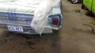 66 Pontiac LeMans 455 with Flowmaster 40 series at idle