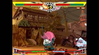 PS3ヴァンパイアリザレクション(セイヴァー)対戦動画 バレッタVSフェリシア
