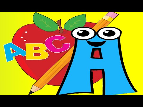 The Alphabet .  ABC  kids  nursery rhymes baby   for kids