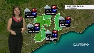 Previsão Grande SP – Queda nas temperaturas