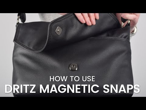 How to Use Dritz Magnetic Snaps