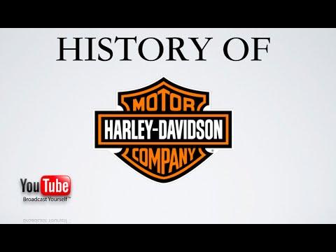 History Of Harley Davidson Motorcycles Youtube