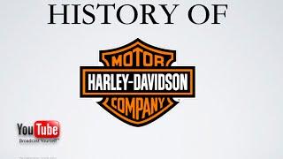 History of Harley-Davidson Motorcycles