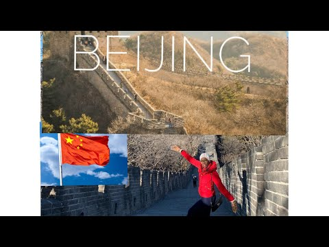 FOLLOW ME AROUND  BEIJING| THE GREAT WALL OF CHINA!😂