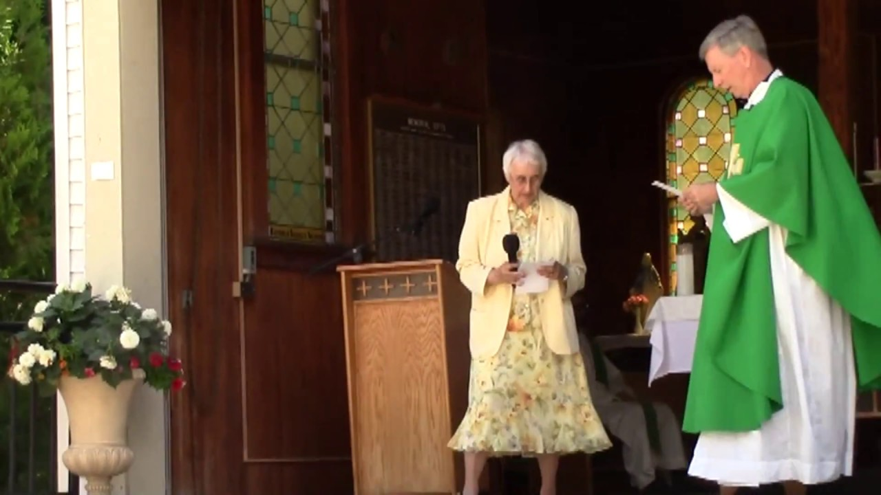 Sr. Mary Ann Gour 50th Anniverary  Mass  6-25-17