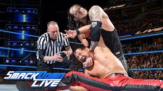 HINDI - Shinsuke Nakamura vs. Baron Corbin: SmackDown LIVE, Jan. 23, 2018