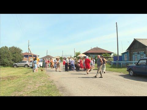 В селе Белоногово Куртамышского района отметили Петров день широкими гуляниями.