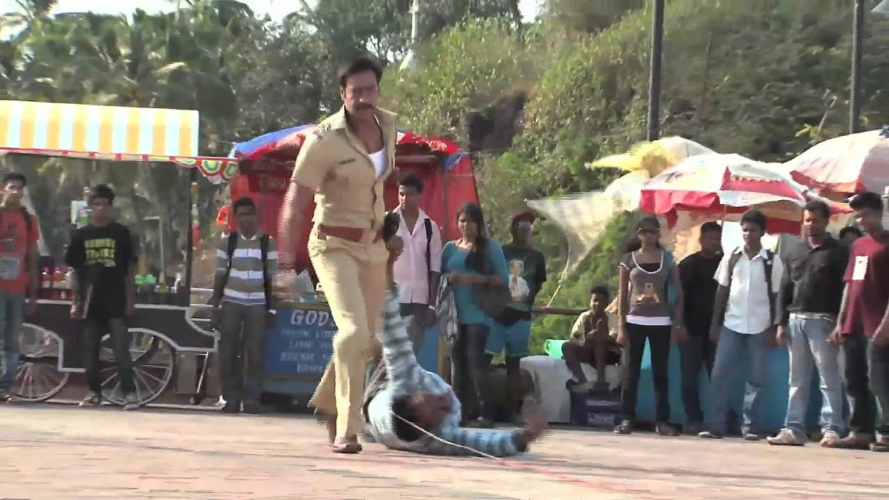 Singham Action Blog Making