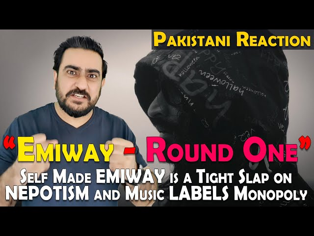 Pakistani Reacts to EMIWAY - ROUND ONE | ROUND ONE REACTION | IAmFawad