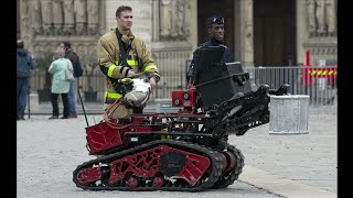 Colossus : le robot des pompiers dans la fournaise de Notre-Dame