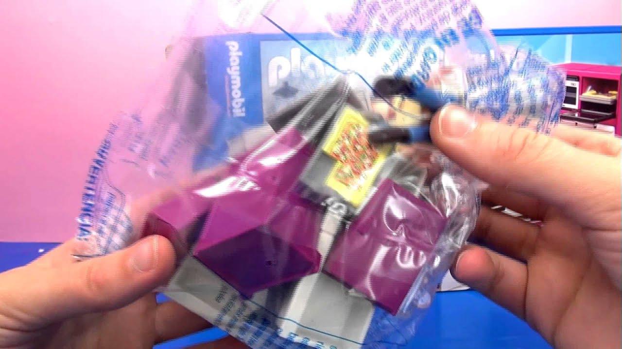 Playmobil Designerküche unboxing - Playmobil City Life 5582 ...