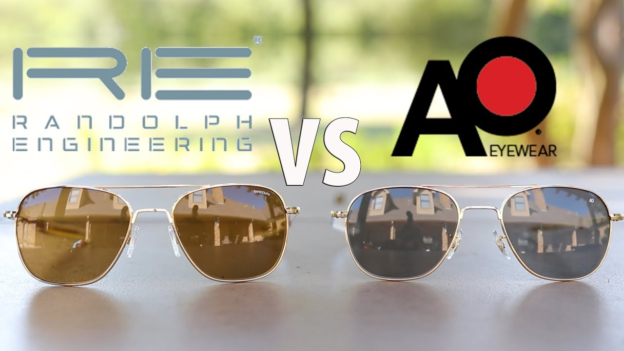 950792613da American Optical vs Randolph Engineering - YouTube