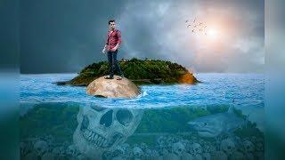 Picsart Boy on Skull under Ocean |Picsart  Under water manipulation | Picsart Tutorial