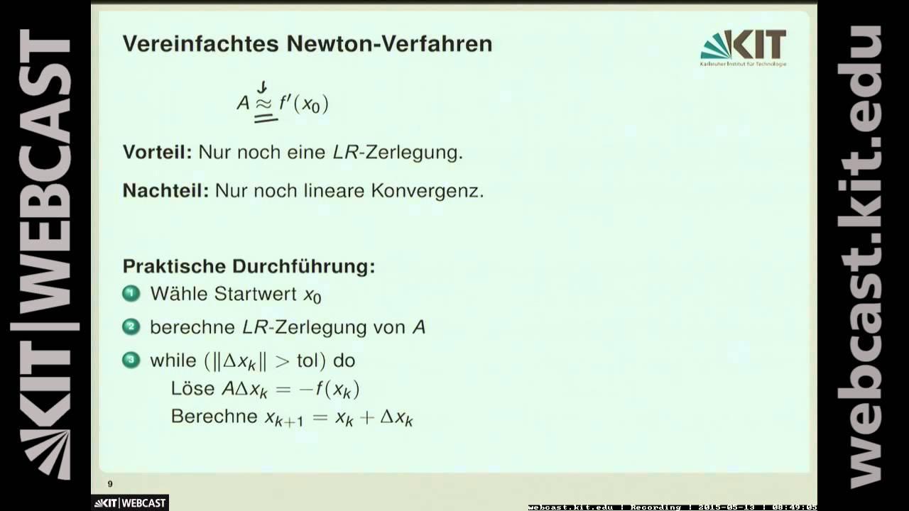 Newton-verfahren