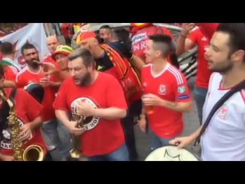 BEST OF Wales Fans at EURO 2016