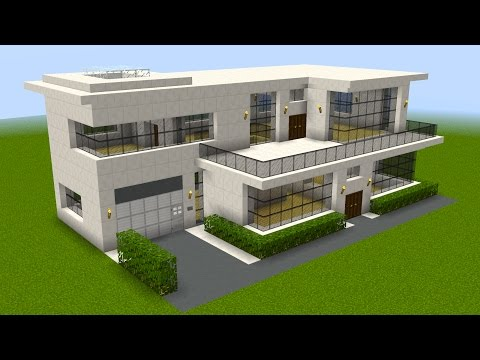 Thumbnail: Minecraft - How to build a huge modern house