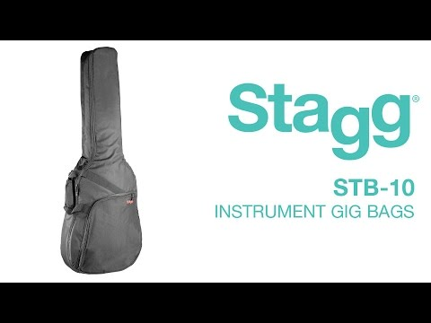 STB-10 10mm Padded Gig Bags | Stagg Music