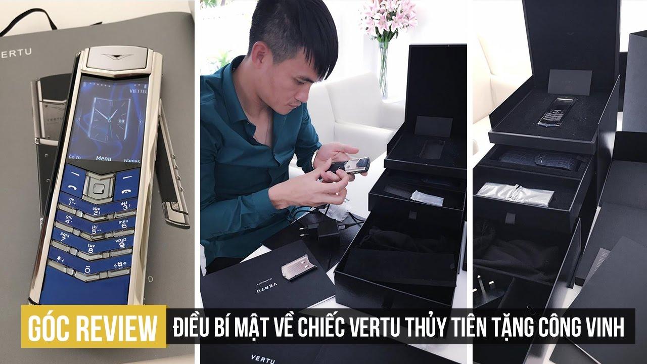 GÓC REVIEW | Bí mật về chiếc Vertu Signature mà ca sĩ Thủy Tiên tặng Công Vinh