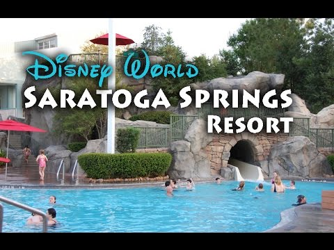 Disney Saratoga Springs Resort // Disney World // TMR Tours