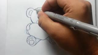 Video Cópia de desenho livre ursinho love / Drawing little bear download MP3, 3GP, MP4, WEBM, AVI, FLV Agustus 2018