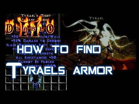 How to Find Tyrael's Armor - Diablo 2