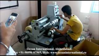 Mini BOPP Cutting Slitting Machine
