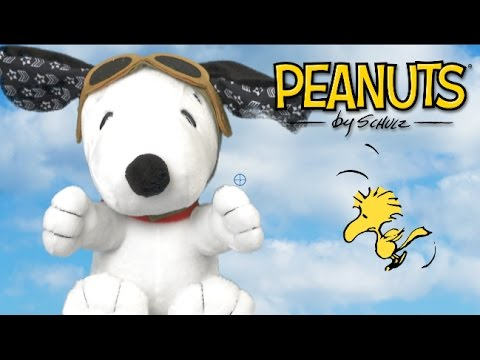 Peanuts Flying Ace Snoopy From Just Play Youtube