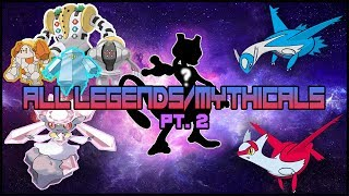 HOW TO GET EVERY LEGENDARY/MYTHICAL IN POKEMON BRICK BRONZE (PART 2)