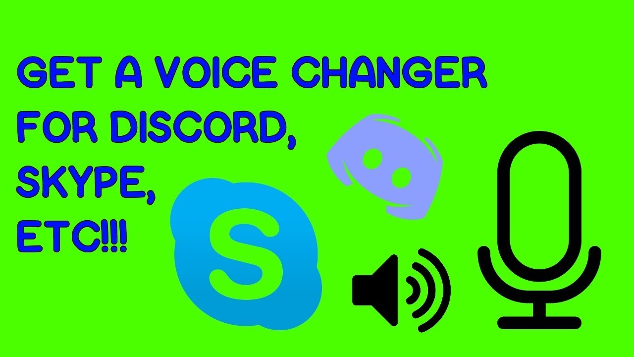 HOW TO GET A VOICE CHANGER FOR RECORDING, DISCORD, SKYPE, AND MORE!!!  COMPLETELY FREE!!!