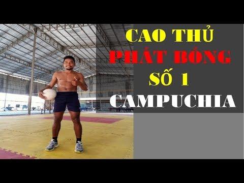 Cao thủ phát bóng chuyền độ hàng đầu Campuchia – Reaction Móm TV