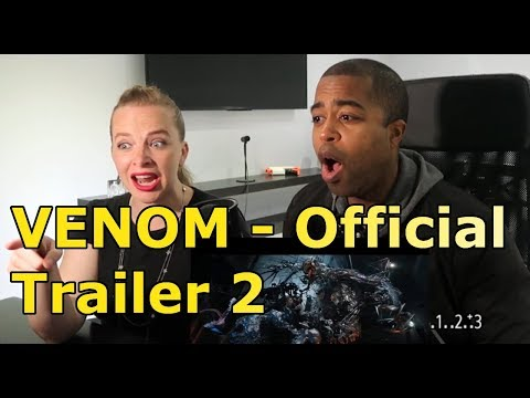 VENOM - Official Trailer 2 (HD) (REACTION 🔥)