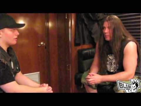 Cannibal Corpse - BlankTV Interview (Pat O'Brien) The Summer Slaughter 2012