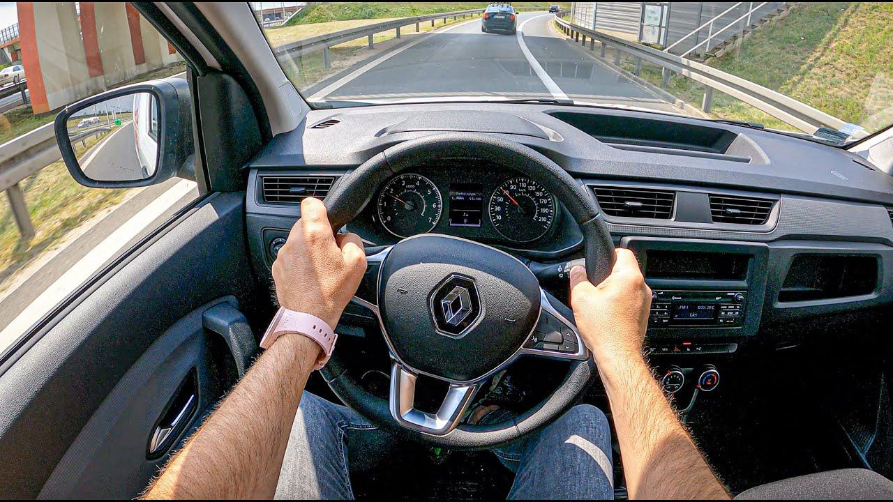 New Renault Express 2021 [1.3 TCE 102HP] |0-100| POV Test Drive #852 Joe Black