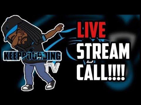 Carolina Panthers Preseason Livestream Talk