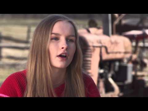 The Visit Official Movie Interview - Olivia DeJonge