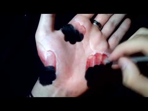 3D Рисунки на руке - Подборка крутых иллюзий