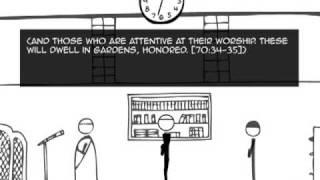 ProductiveMuslim Animation 1: The daily life of a ProductiveMuslim - It Revolves Around Salah!!