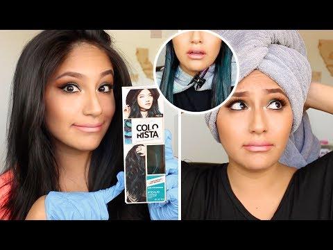 Does LOREAL COLORISTA Hair Dye Work On Dark Hair??