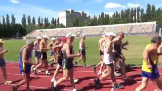 VII Всеукраинские  игры ветеранов спорта памяти М. Бака