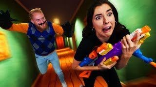 NERF Hello Neighbor Challenge!